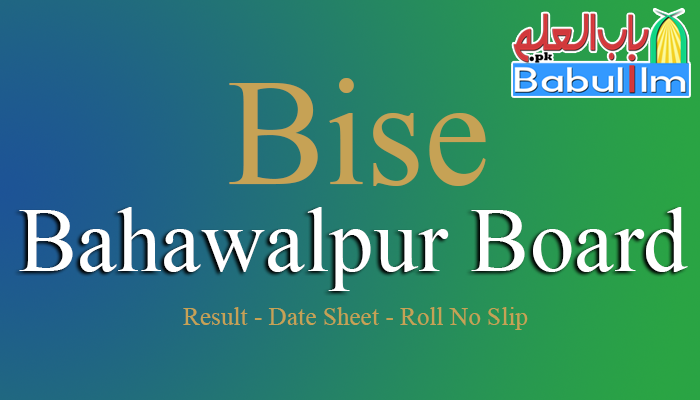 Bise-Bahawalpur-Board
